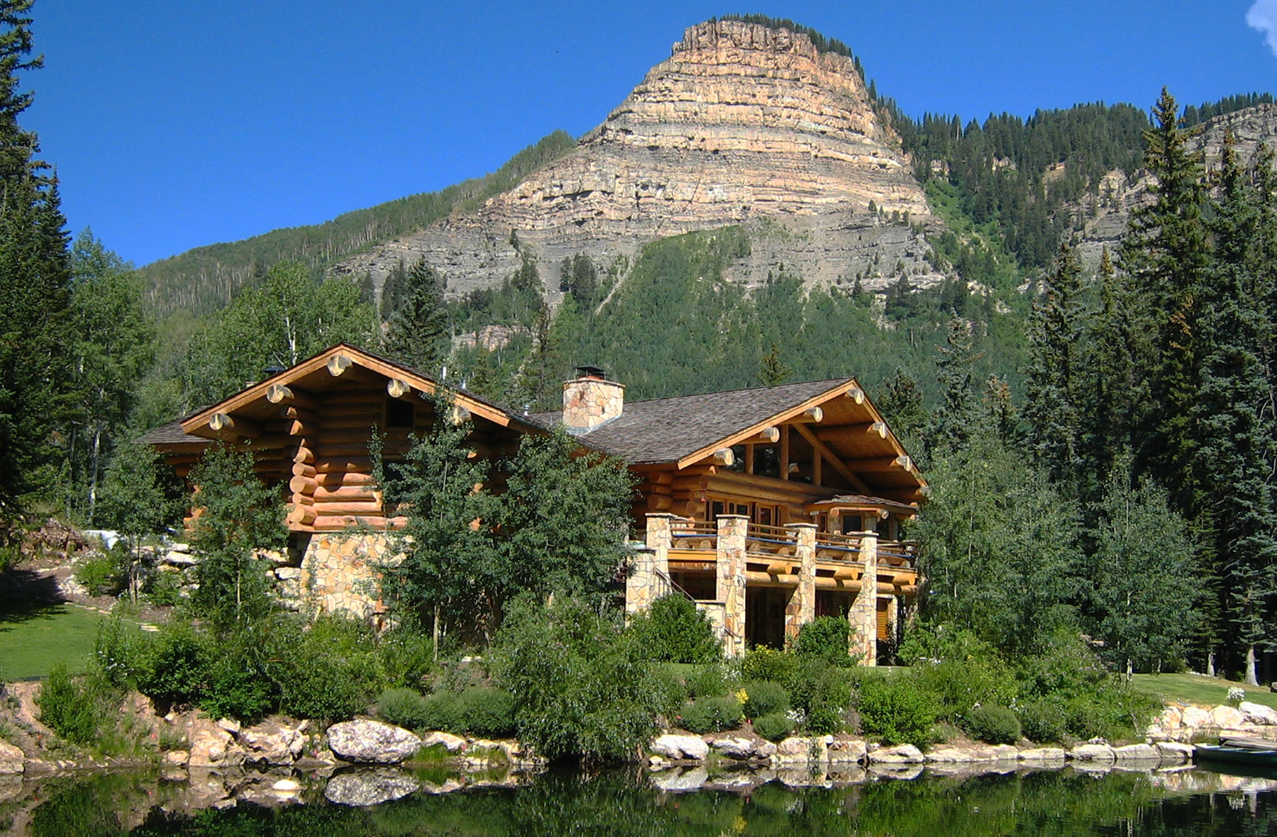 Log home builders in durango colorado san juan structures for 5 structural types of log homes